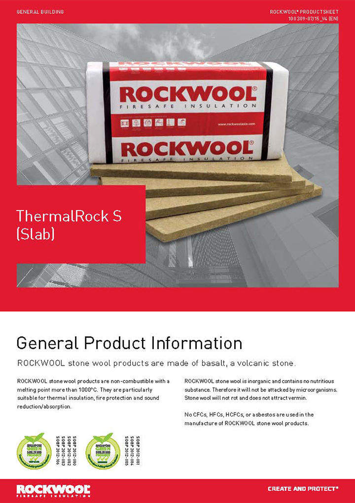 Roxul ThermalRock S (Slap)